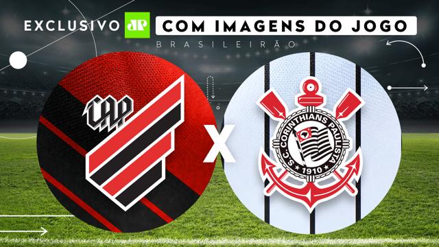 Jovem Pan vai exibir partida entre Athletico Paranaense e Corinthians pela 17ª rodada do Campeonato Brasileiro (foto: Jovem Pan)
