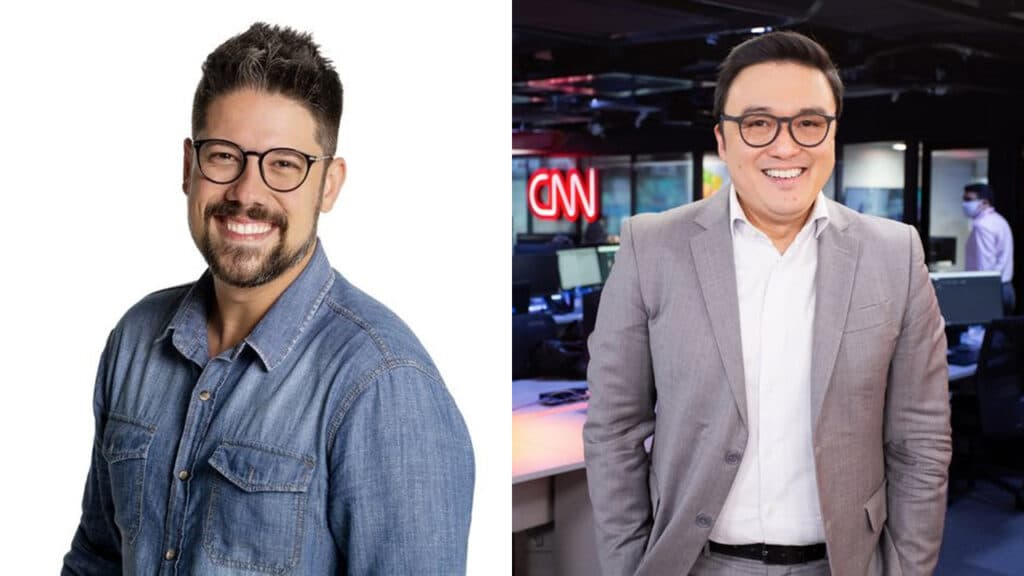 Phelipe Siani e Fernando Nakagawa vão comandar novo programa na CNN Brasil (foto: Divulgação/CNN Brasil)