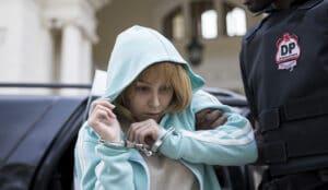 Carla Diaz interpretou Suzane nos filmes sobre o Caso Richthofen (foto: Divulgação/Amazon Prime Video)