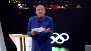 Galvão Bueno pediu programa nos domingos da Globo (foto: Reprodução/Globo)