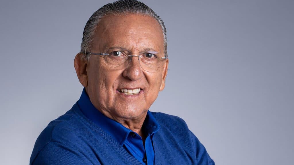 Galvão Bueno disse que pedido de programa nos domingos da Globo foi brincadeira interna (foto: Globo/Mauricio Fidalgo)
