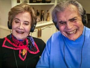 Casados há 60 anos, os atores Tarcísio Meira e Glória Menezes foram internados com Covid-19 (foto: Divulgação/Globo)