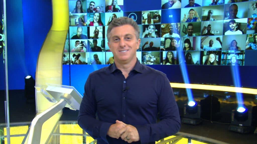 Suspenso por conta da crise sanitária, Melhores do Ano pode voltar a ser produzido pela Globo com apresentação de Luciano Huck (foto: Globo/Reprodução)
