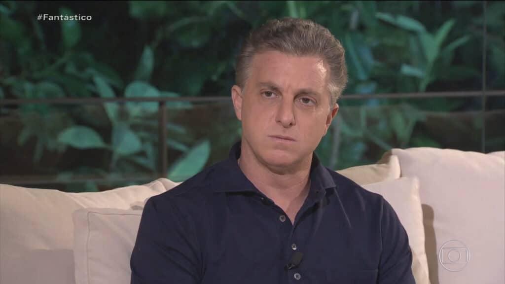 Em entrevista ao Fantástico, Luciano Huck explica por que desistiu de se candidatar às eleições de 2022 (foto: Globo/Reprodução)