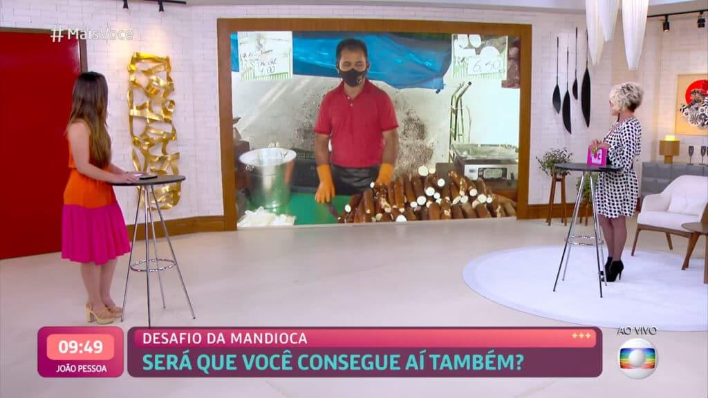 Ana Maria Braga levou público ao delírio com piadas de duplo sentido (foto: Globo/Reprodução)