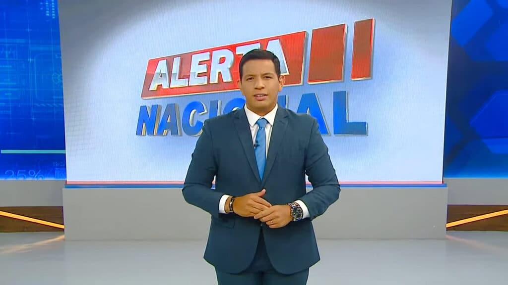 Bispo Luiz Rodrigues apresentou o Alerta Nacional no lugar de Sikêra Jr. (foto: Reprodução)
