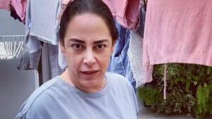 Silvia Abravanel ajudou empregadas a lavar roupas (foto: Reprodução/Instagram)
