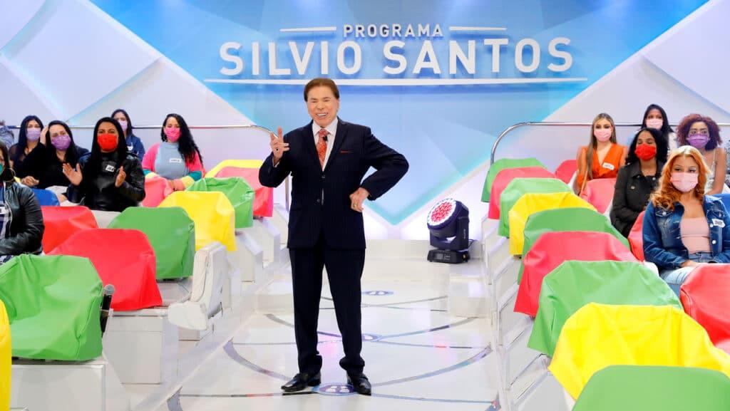 Com gravações canceladas, Silvio Santos voltará a reprisar programas antigos (foto: SBT/Lourival Ribeiro)