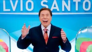 No Brasil Urgente, Datena afirmou que Silvio Santos estaria com Covid-19 (foto: SBT/ Lourival Ribeiro)