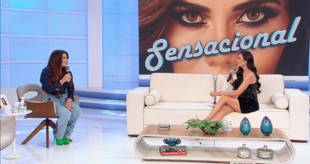Simony abriu o coração sobre o romance com o cantor Felipe Rodriguez, 14 anos mais jovem (foto: Divulgação/RedeTV!)