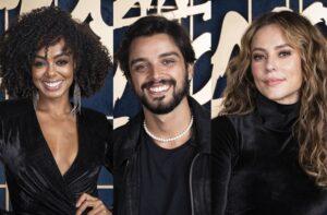 Dandara Mariana, Paolla Oliveira e Rodrigo Simas são os finalistas da Super Dança dos Famosos (foto: Globo/Maurício Fidalgo)