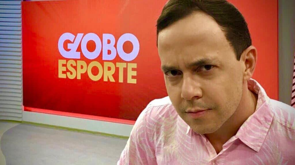 Tiago Medeiros vai apresentar o Esporte Espetacular durante as férias de Lucas Gutierrez (foto: Reprodução/Instagram)