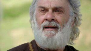 Ator Zécarlos Machado em cena da novela Gênesis, da Record (foto: Record/Reprodução)