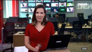 Depois de ir para a Record, Adriana Perroni virou persona non grata na Globo (foto: Reprodução/GloboNews)