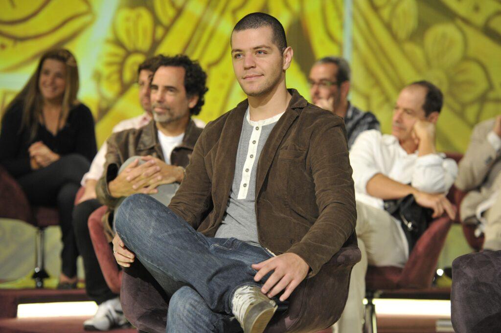 Victor Sarro no Encontro com Fátima Bernardes em 2013 (foto: Globo/Renato Rocha Miranda)