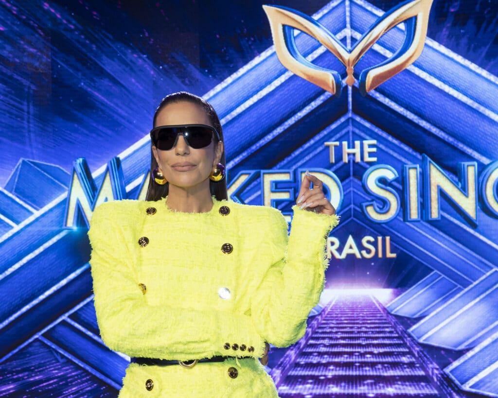 Ivete Sangalo apresenta o The Masked Singer Brasil (foto: Globo/Kelly Fuzaro)