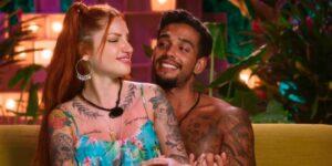 Matheus Sampaio e Brenda Paixão decidiram viver juntos após término do Brincando com Fogo Brasil (foto: Reprodução/Netflix)