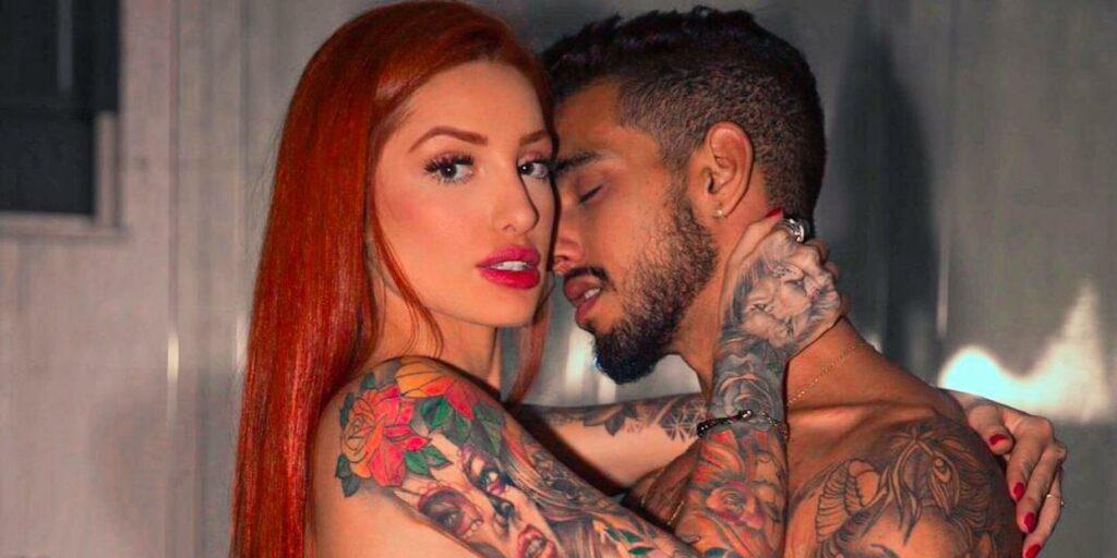 Brenda Paixão e Matheus Sampaio oficializaram relacionamento para os fãs de Brincando com Fogo (foto: Reprodução)