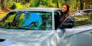 Filha de Gugu Liberato teve que se contentar com carro de R$ 420 mil (foto: Reprodução)