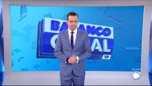 Celso Zucatelli quer puxar tapete de Reinaldo Gottino no Balanço Geral SP (foto: Reprodução/Record)
