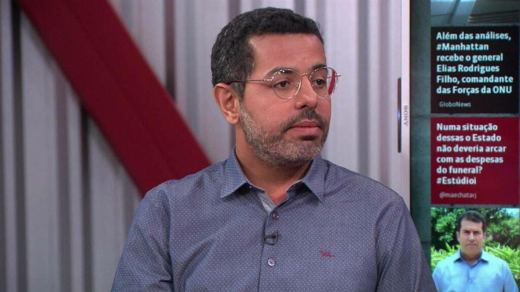 Chico Regueira é um dos principais repórteres do Jornal Nacional (foto: Reprodução/GloboNews)