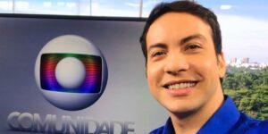 Diego Haidar se tornou meme após salto mortal no RJ1 (foto: Reprodução/TV Globo)