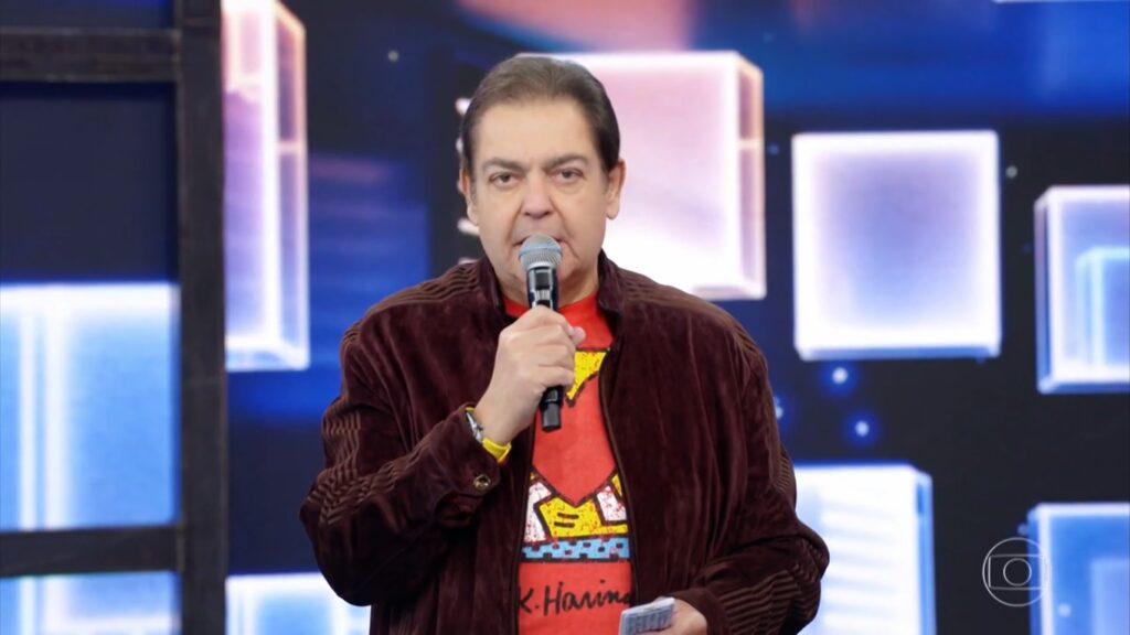 Direção da Band já tem estudado formatos para Faustão (foto: Reprodução/TV Globo)