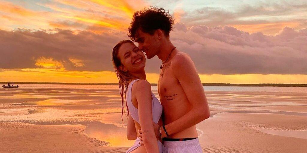 Fefe e Walker namoraram durante cerca de oito meses (foto: Reprodução)
