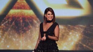 Fernanda Paes Leme apresentou a primeira temporada do X Factor Brasil (foto: Divulgação/Band)