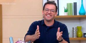 Fernando Rocha foi demitido após piada sem graça no Bem Estar (foto: Reprodução/TV Globo)