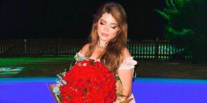 GKay recebeu flores de suposto admirador secreto (foto: Reprodução)
