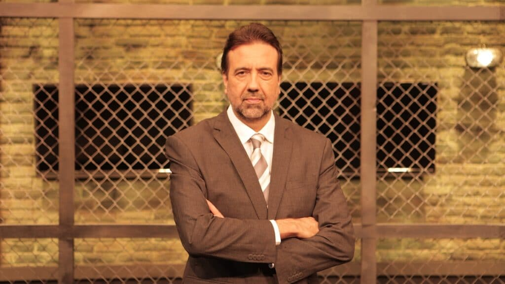 Jorge Lordello é o apresentador do Operação de Risco: programa perdeu espaço na RedeTV! (foto: Divulgação/RedeTV!)