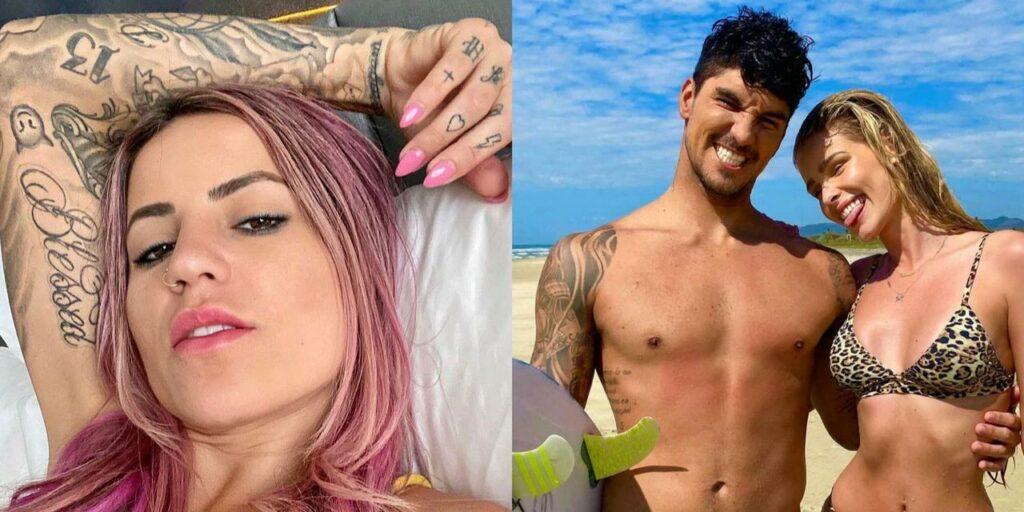Muito antes de Yasmin Brunet, Gabriel Medina e Leticia Bufoni fizeram até tatuagens iguais (foto: Reprodução)