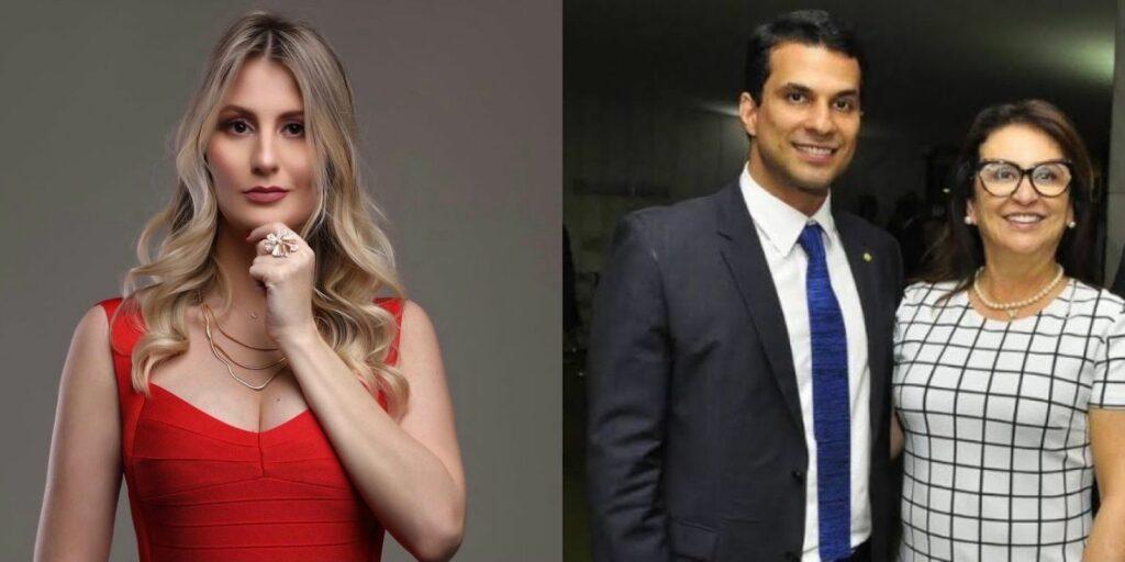 Maria Eduarda Fermino teve um breve relacionamento com o senador Irajá Silvestre, filho de Kátia Abreu (foto: Reprodução)