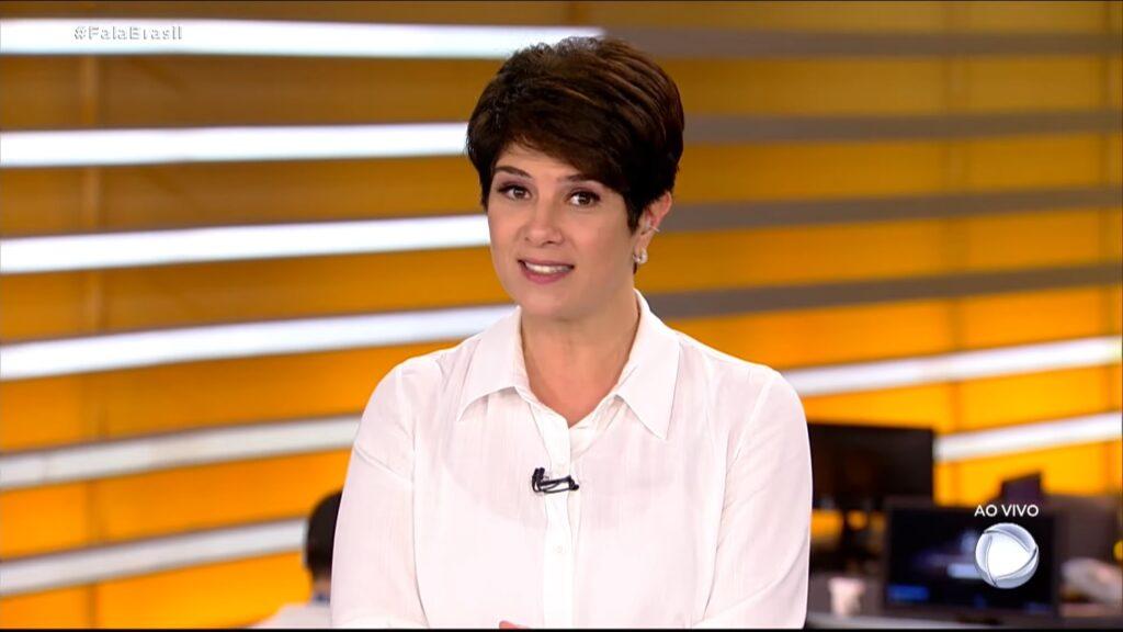 Mariana Godoy foi a gota d'água para criação de manual de regras para jornalistas (foto: Reprodução/Record)