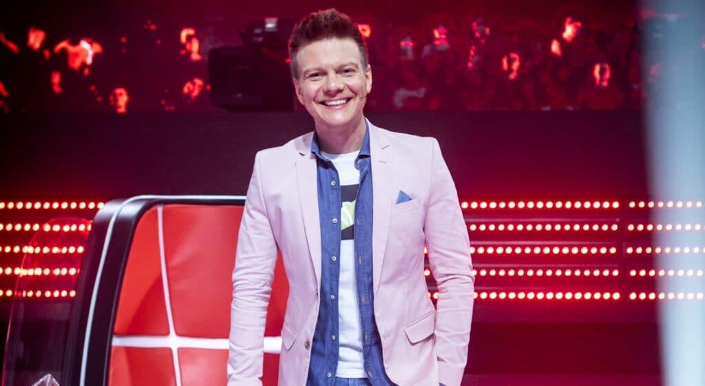 Michel Teló terá papel ainda mais importante na nova temporada do The Voice Brasil (foto: Isabella Pinheiro/TV Globo)