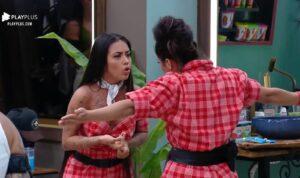 MC Mirella e Raissa Barbosa participaram de A Fazenda 12 (foto: Reprodução/Record)