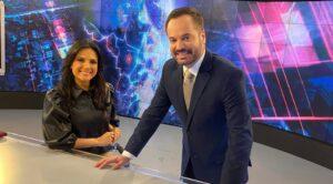 Marcelo Torres e Márcia Dantas são os atuais âncoras do SBT Brasil (foto: Divulgação/SBT)