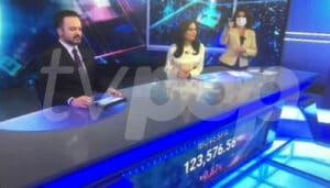 Novo cenário do SBT Brasil