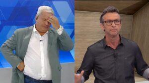 Sikêra Jr. não conseguiu que a Justiça liberasse censura de Os Donos da Bola (foto: Reprodução/TV A Crítica e Band)