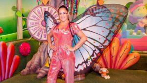 Silvia Abravanel é a apresentadora do Bom dia & Cia: programação infantil do SBT com desfalques (foto: Divulgação/SBT)