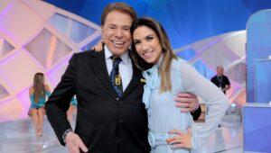 Silvio Santos e Patricia Abravanel são alguns dos apresentadores atuais do Roda a Roda (foto: Reprodução/SBT)