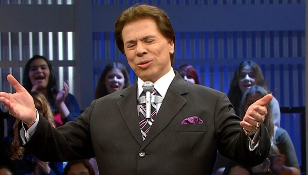 Silvio Santos em gravação de 2008, reapresentada por seu programa na noite de domingo (foto: Reprodução/SBT)
