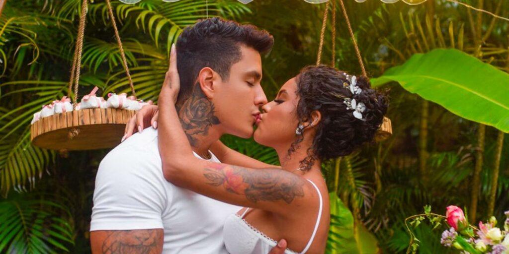 Sthefane Matos é cotada para A Fazenda; modelo noivou com o influenciador Victor Igoh (foto: Reprodução)