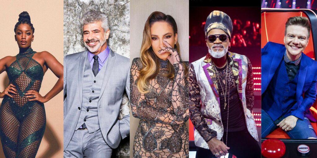 Décima edição do The Voice Brasil terá um quinteto de jurados (foto: Reprodução)