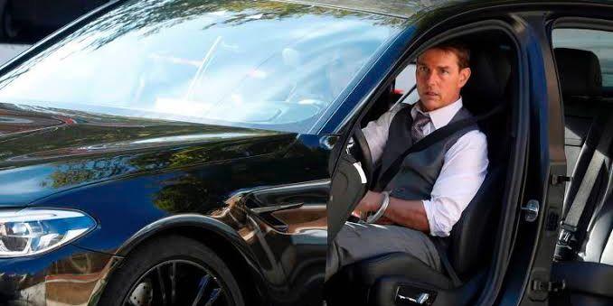 O carro de Tom Cruise é avaliado em mais de R$ 700 mil (foto: Reprodução)