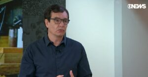Vinícius Dônola foi um dos principais repórteres da Globo durante 15 anos (foto: Reprodução/GloboNews)