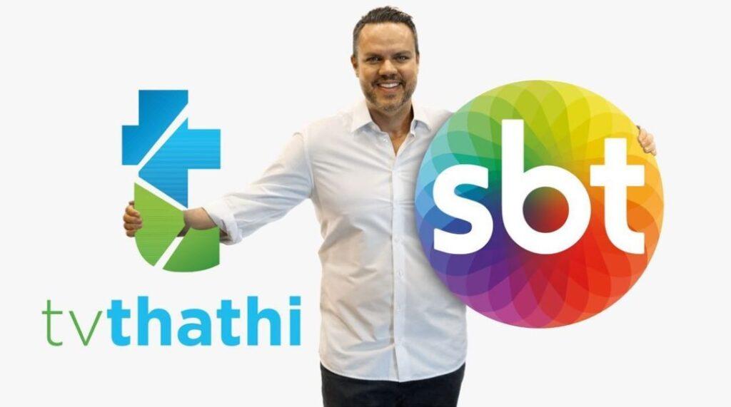 Ex-apresentador dos boletins do BBB, Vinicius Valverde é o novo reforço do SBT em São José dos Campos (foto: Divulgação/TV Thathi)