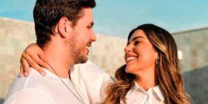 Vivian Amorim e Leo Hirschmann estão esperando seu primeiro filho (foto: Reprodução)