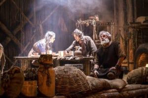 Cena da novela Gênesis; Record quer formar elenco de atores evangélicos para suas produções (foto: Record/Divulgação)